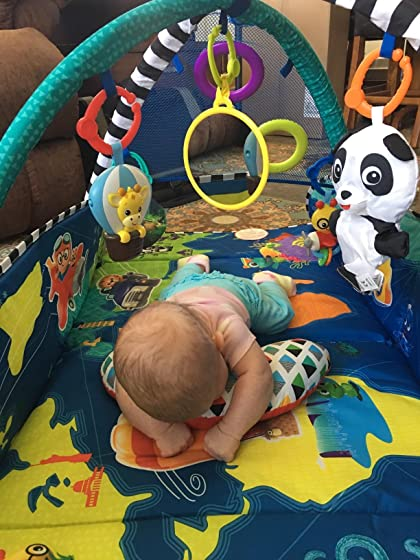 Baby Einstein 5-in-1 Journey of Discovery Activity Gym Benefits both mom and baby