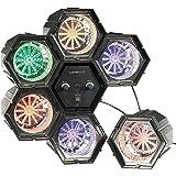 Lunartec Lichterorgel: 6-Kanal Lichtorgel mit 282 LEDs mit Klang-Steuerung (Disco Light)