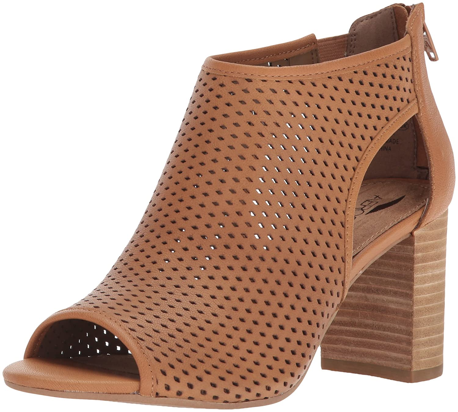 Aerosoles Women's High Frequency Ankle Bootie B076NY6TVS 10.5 B(M) US|Dark Tan Leather