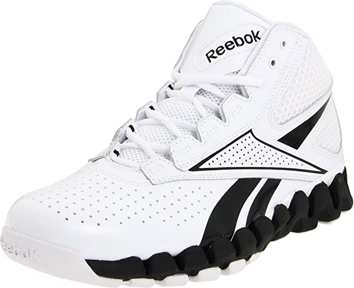 reebok high tops. amazon.com | reebok men\u0027s zig pro future basketball shoe, white/black, 6.5 m us shoes high tops