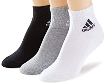 Adidas Adi ankle half-cushion 3 pair pack - Calcetines, tamaño 3538, color