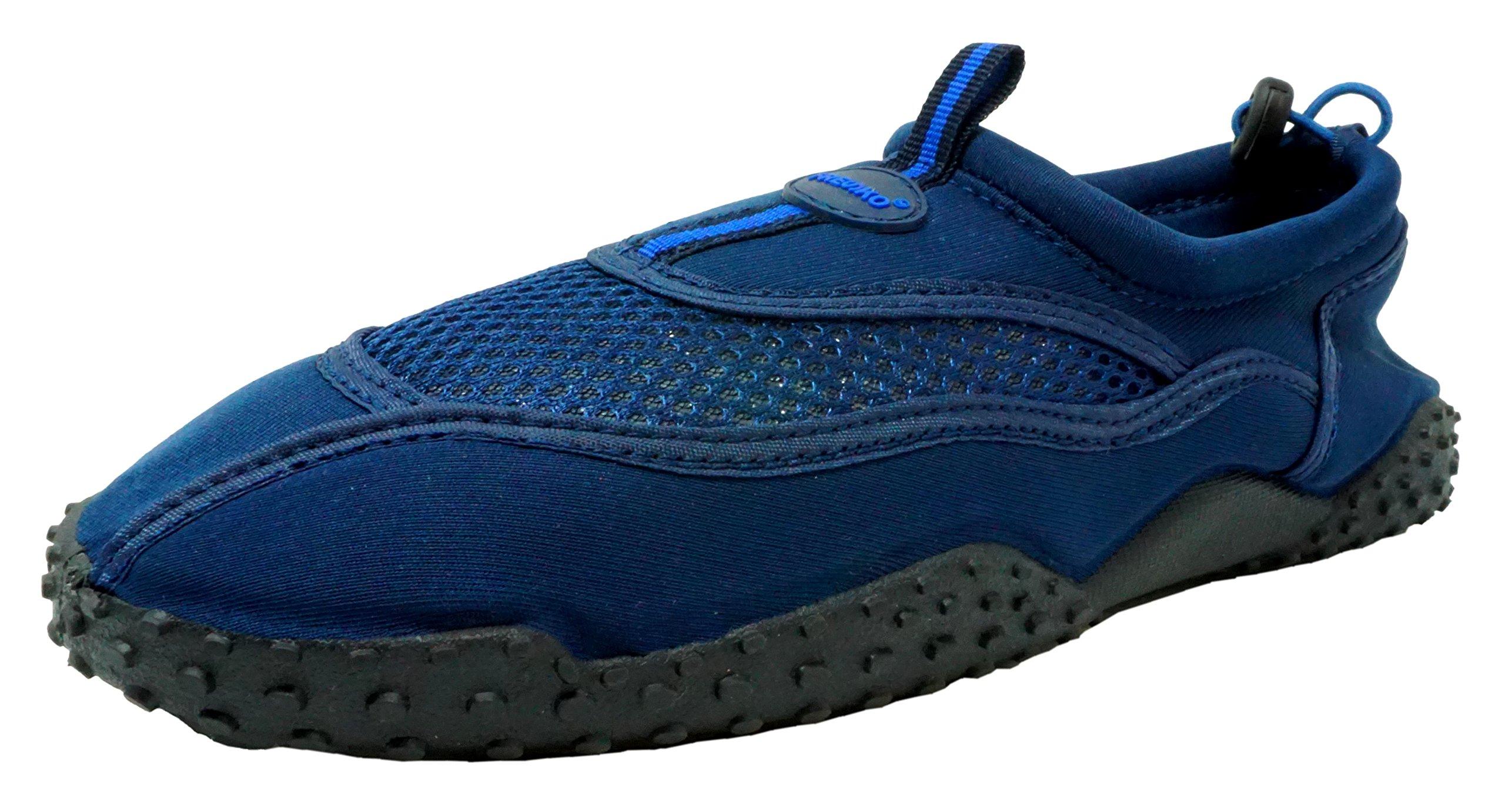Fresko Men's Water Shoes, M2001, Navy, 10 M US
