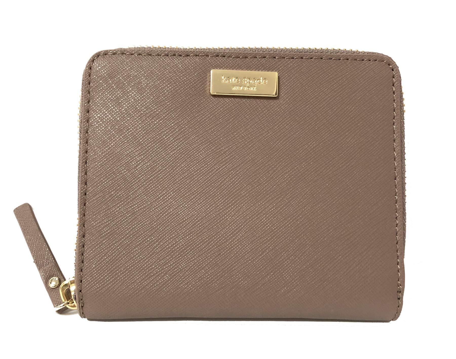 Kate Spade Darci Laurel Way Leather Zip Around Medium Wallet (Dusk City Scape)