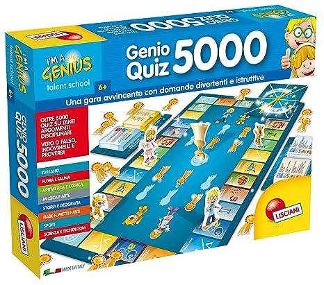 Lisciani Giochi 56460 Gioco Im A Genius Super Quiz 5000 Amazon