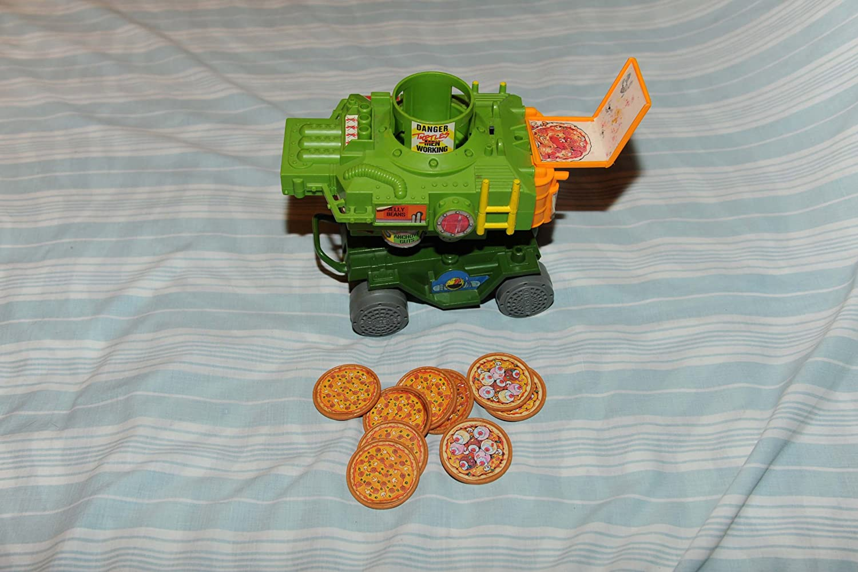 Amazon.com: Teenage Mutant Ninja Turtles Pizza Thrower: Toys ...