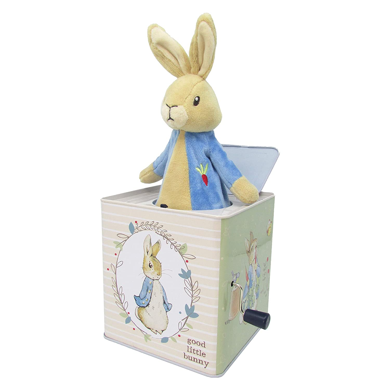 80% de descuento Beatrix Potter Peter Rabbit Jack in in in the Box Plush by Kids Preferrojo  Vuelta de 10 dias