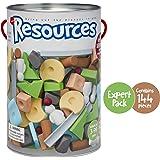 Taksa Toys Resources Expert Pack 144 Pcs. – Alternative Educational Building Blocks Set / Creative Open-Ended…