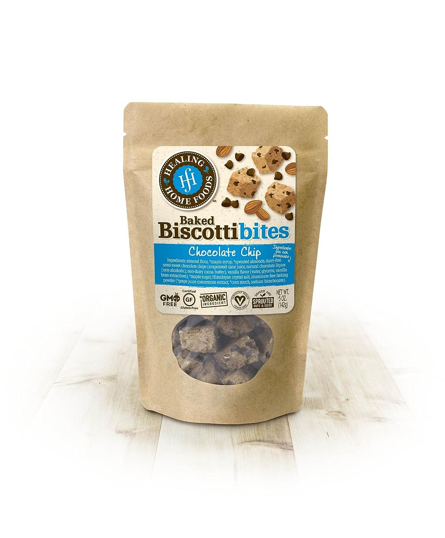 Chocolate Chip Baked Biscotti Bites: Amazon.com: Grocery ...