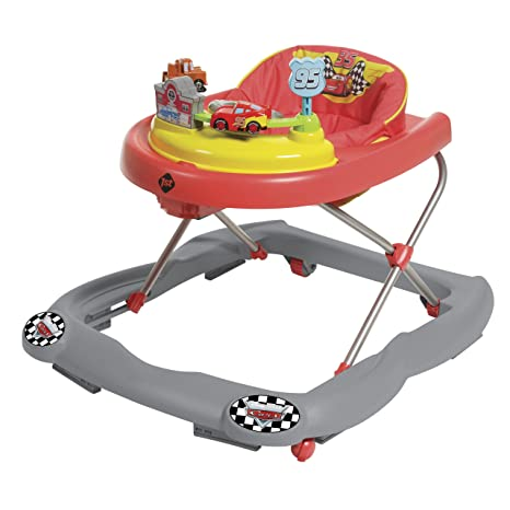 Amazon.com : Disney Baby Lightning McQueen Walker : Baby