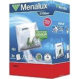 Menalux  MegaPack - Bolsas para aspiradoras Miele, S4, S6, electronic 3800 (12 unidades)