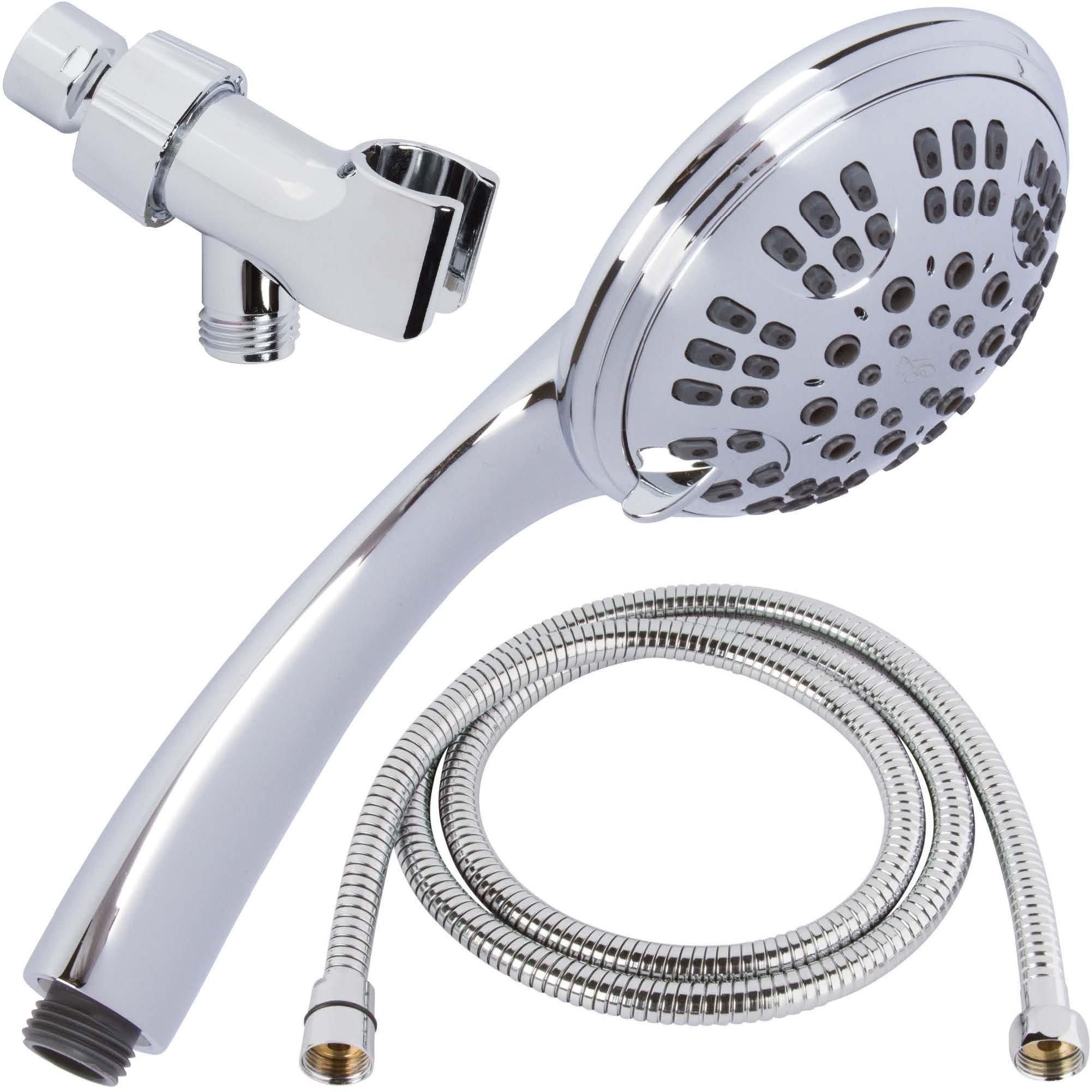 plated rainfall massager sunbeam improvement speakman home reviews wayfair dual shower steel head pdx