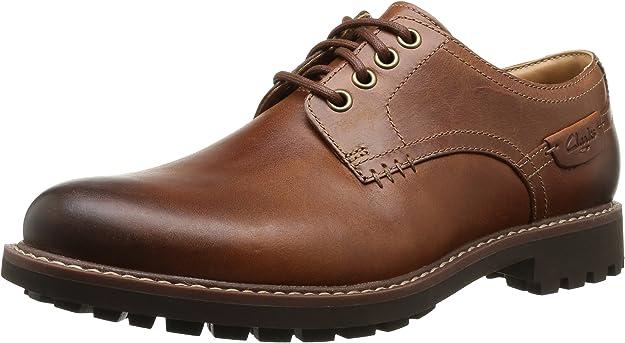 TALLA 43 EU. Clarks Montacute Hall, Zapatos de Cordones Derby para Hombre