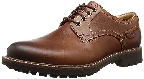 b6589b8b9e7 Clarks Montacute Hall, Zapatos de Cordones Derby para Hombre: Amazon.es:  Zapatos y complementos