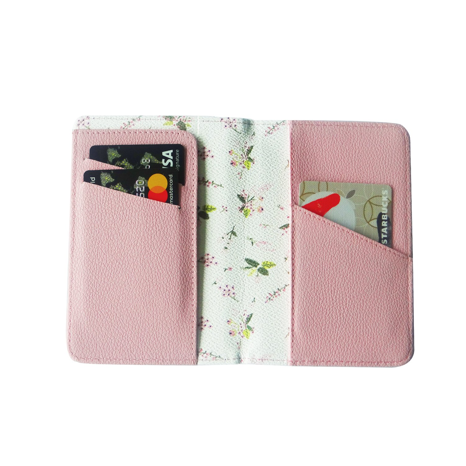Passport Wallet Holder for Men& Women, RFID Blocking Travel Waterproof Credit Card& Money Bag Multifunctional Family Storage Organizer Id Card