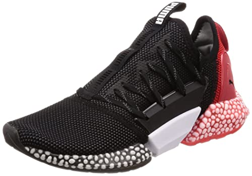b83002aab39045 Puma Men s Hybrid Rocket Runner Black-Ribbon Red Running Shoes-8 UK India