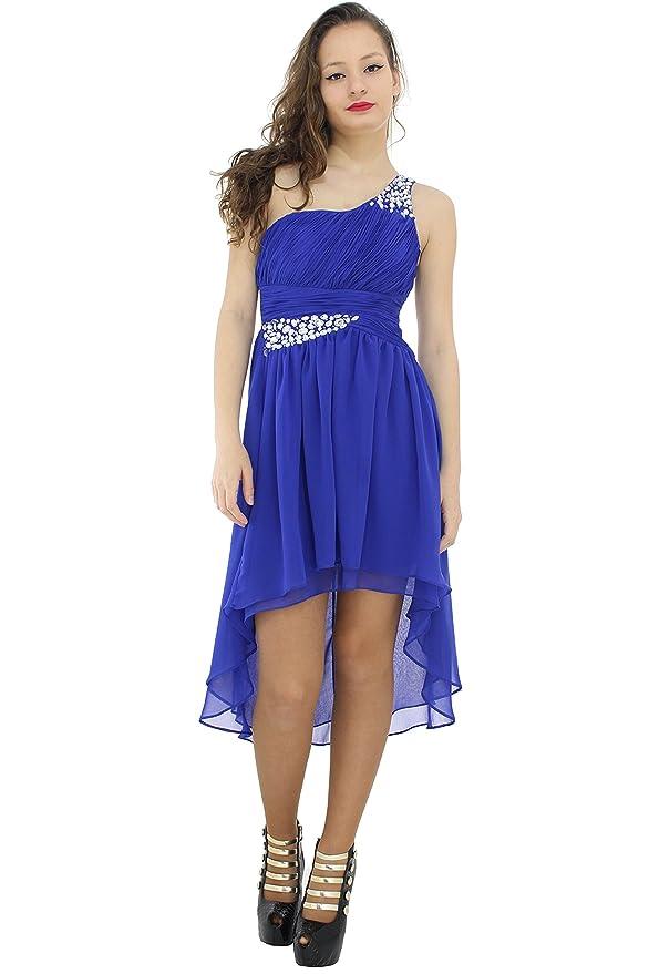 Bonito Vestidos De Cóctel De Color Azul Más El Tamaño Molde ...