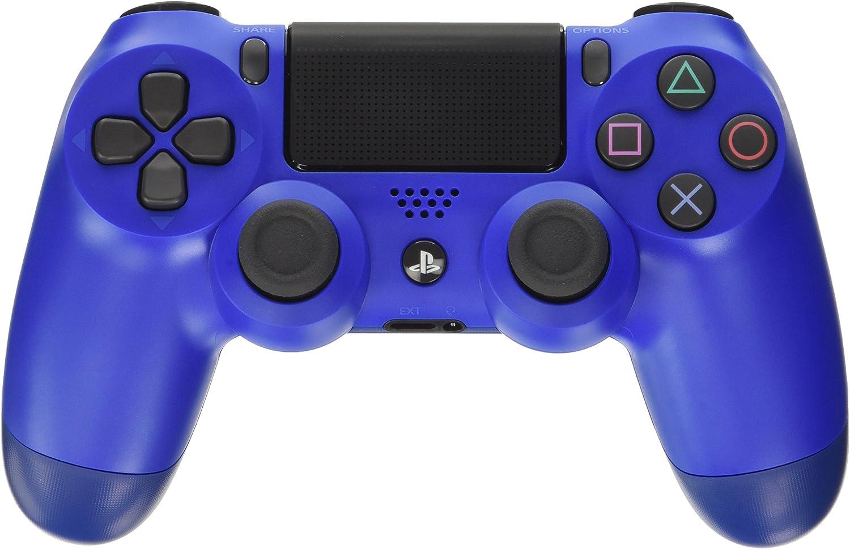 Sony - Dualshock 4 V2 Mando Inalámbrico, Color Azul (Wave Blue) (PS4)