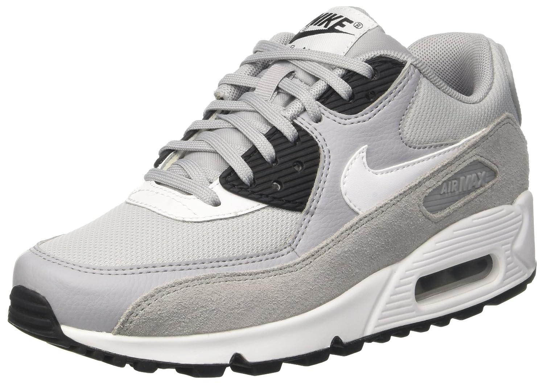 Nike Wmns Air MAX 90, Zapatillas para Mujer 41 EU|Gris (Wolf Grey/White/Black/White)