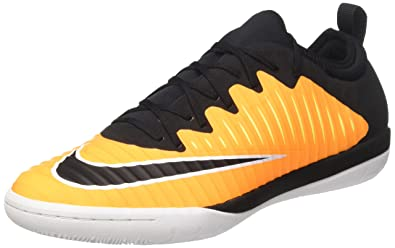 NIKE MercurialX Finale II IC Indoor Soccer Shoe (SZ. 8) Laser Orange,