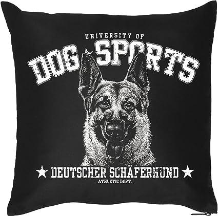 Cojín Dog sports raza pastor alemán de perros amigo para desayunar perros amigo propietario para el