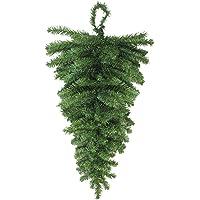 Northlight 30″ Canadian Pine Artificial Christmas Teardrop Door Swag - Unlit