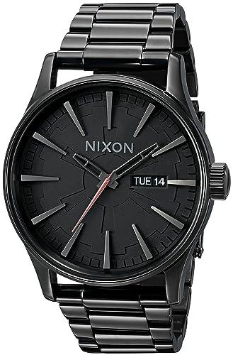 Nixon A356SW-2244-00 - Reloj de pulsera hombre, acero inoxidable, color Negro: Nixon: Amazon.es: Relojes