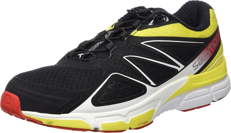 Salomon L38154500, Zapatillas de Trail Running para Hombre, (Black ...