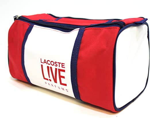Lacoste Live Parfums Neceser/Neceser Rojo/Azul & Blanco * NUEVO: Amazon.es: Equipaje