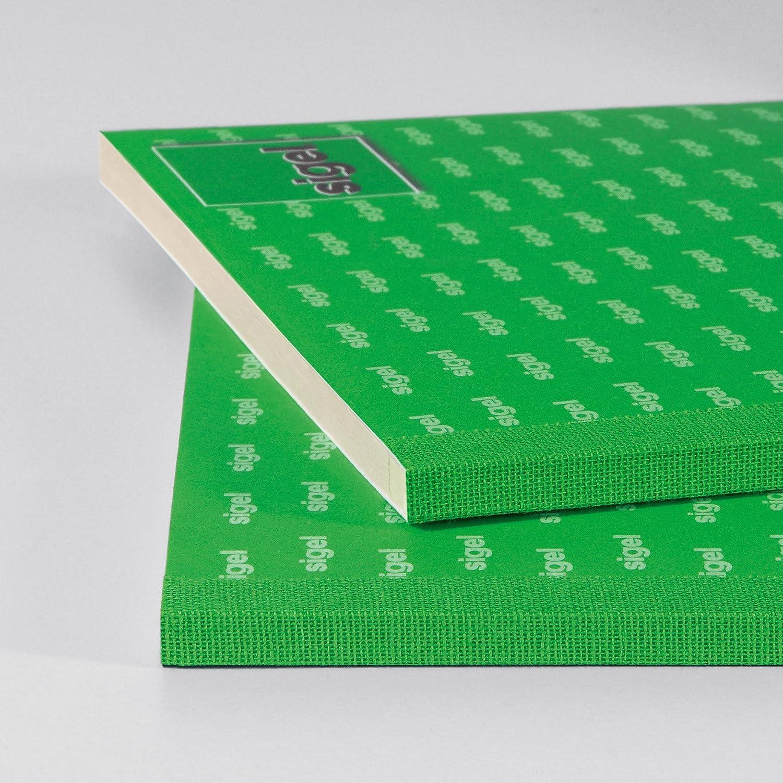 10 St/ück Sigel SD025//10 Rapport A5 2x40 Blatt selbstdurchschreibend