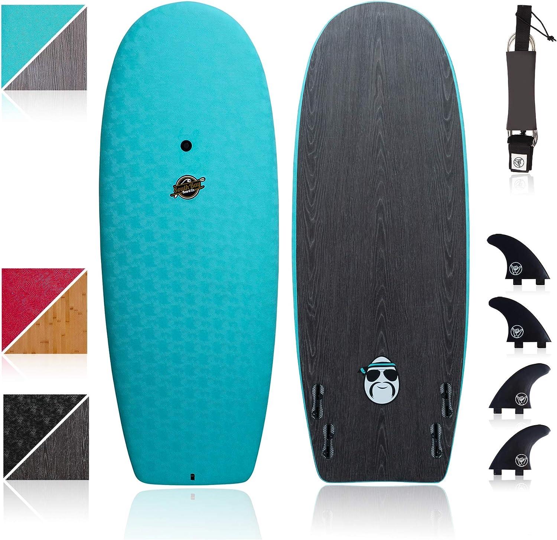 Hybrid Surfboard Wakesurf Board heavy riders