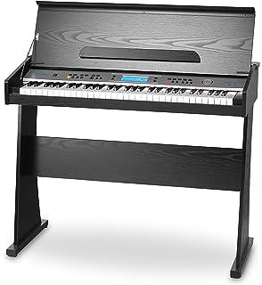 FunKey II DP-61 - Piano digital con soporte, color negro
