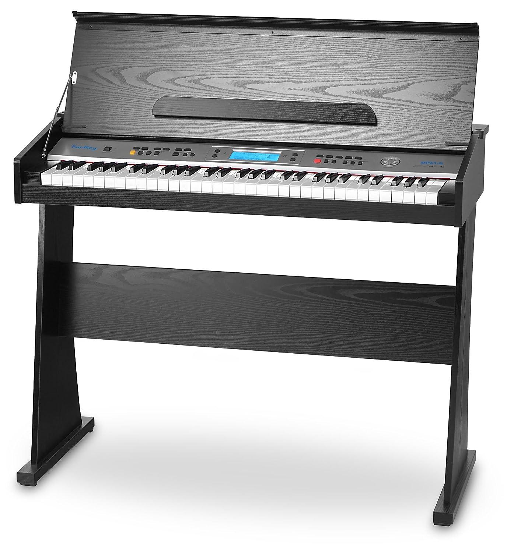FunKey II DP-61 - Piano digital con soporte, color negro 00024562