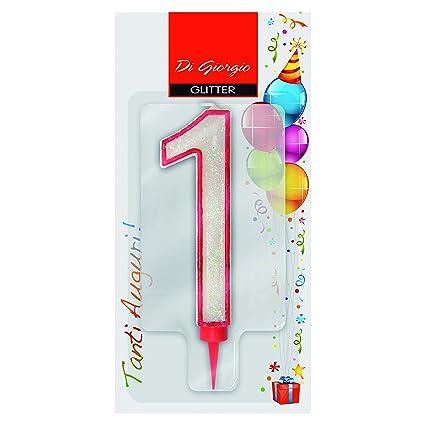 Cereria de Giorgio 58170 _ 61 vela de cumpleaños gigante con ...