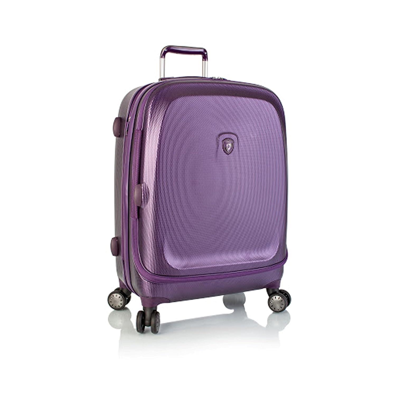... 50% SALE ... PREMIUM DESIGNER Hartschalen Koffer - Heys Crown Smart Gateway Lila - Trolley mit 4 Rollen Medium