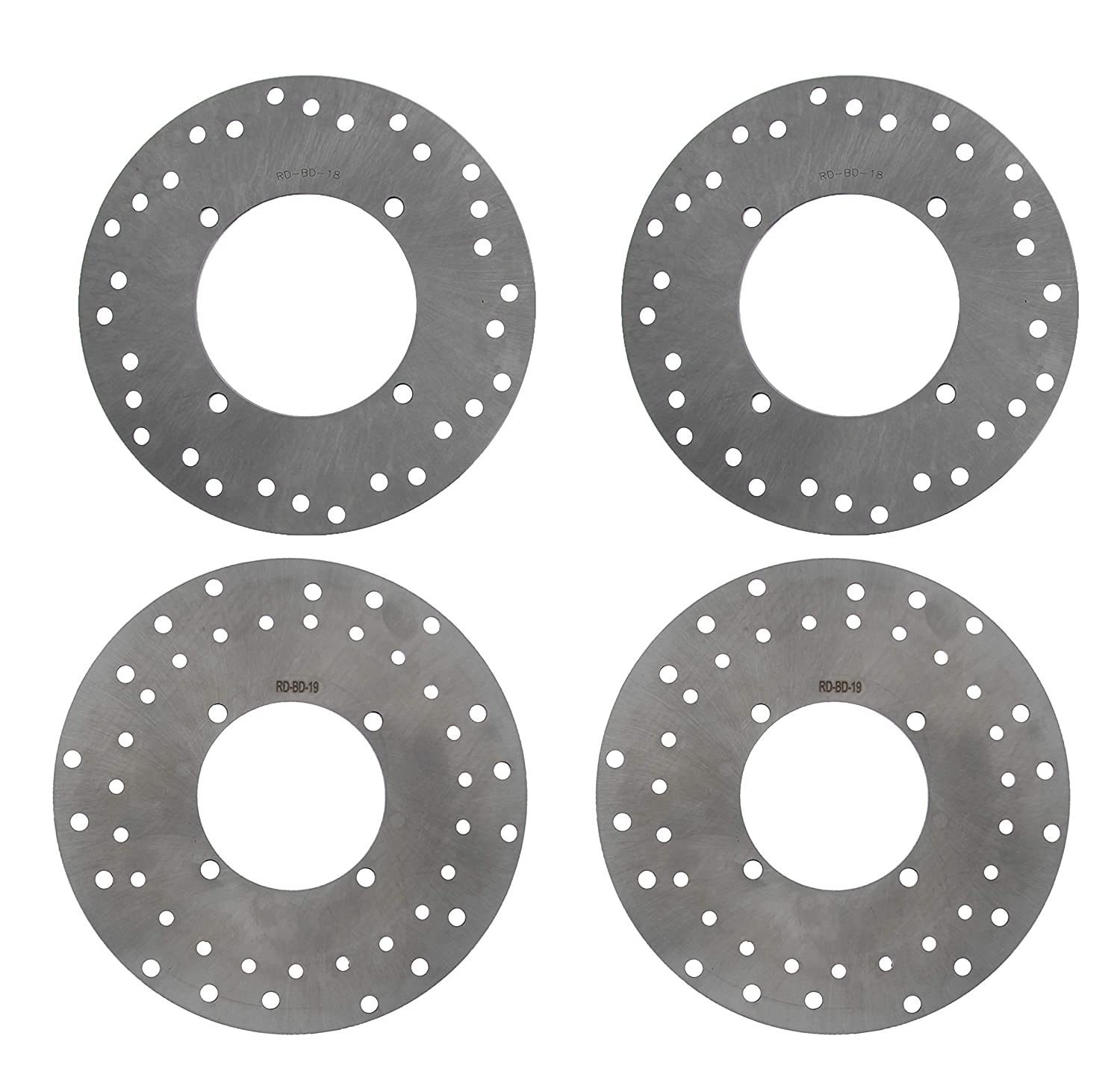 Brake Rotor Disc for Polaris Sportsman 500 4x4 EFI 2007 Rear by Race-Driven
