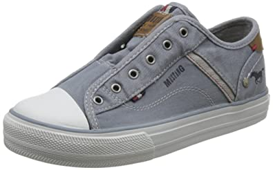 Mustang Damen 1272-401-2 Slip on Sneaker, Grau (Grau 2), 39 EU