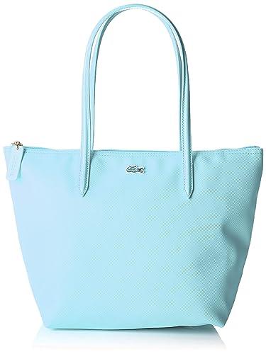 d5db02462de86 Lacoste femme Nf2037po Sac porte epaule Bleu (Clearwater): Amazon.fr ...