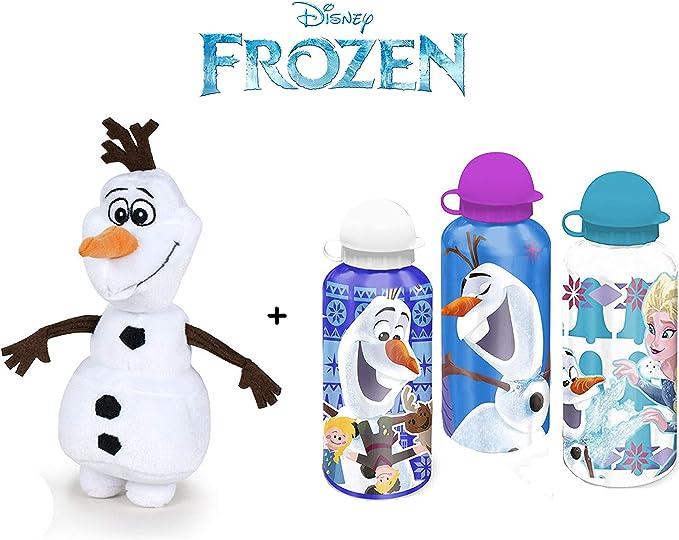 FRZN Disney - Pack Peluche Olaf, muñeco de Nieve 7,7