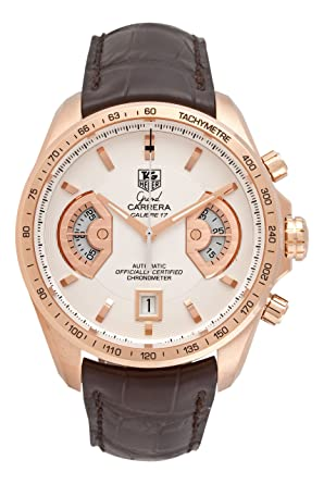 26214ef386e Image Unavailable. Image not available for. Color  TAG Heuer Men s  CAV514B.FC8171 Grand Carrera Calibre 17 RS Automatic Chronograph White ...