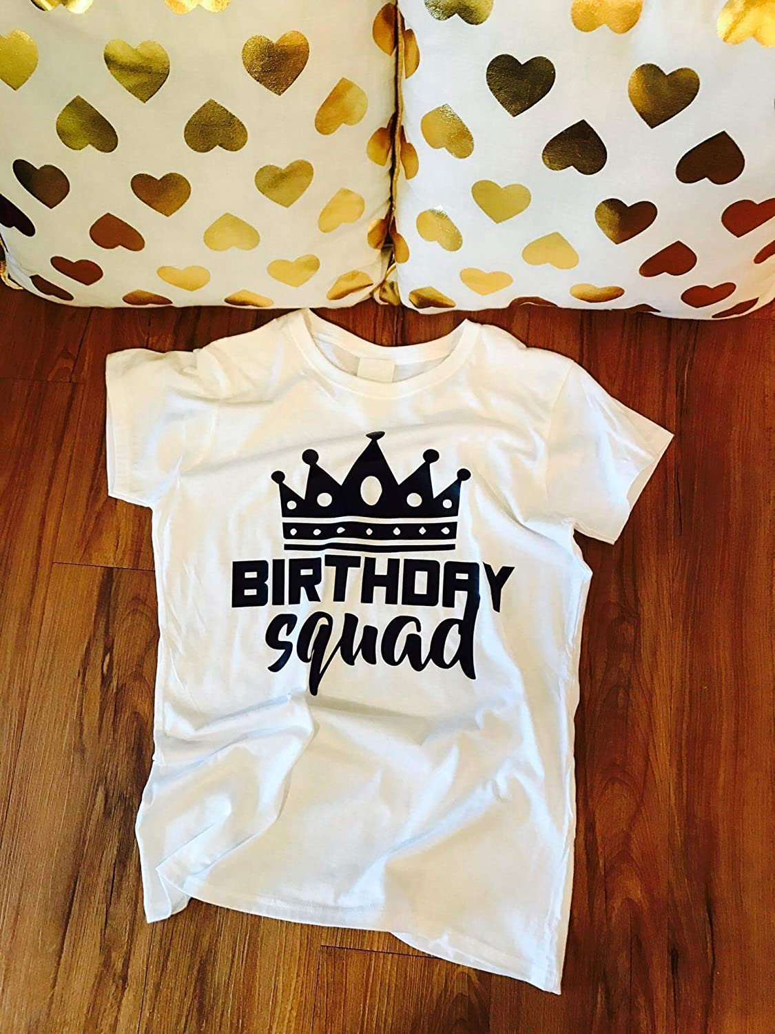 Amazon Birthday Shirt Women Girl Squad Shirts Goals For Her Group