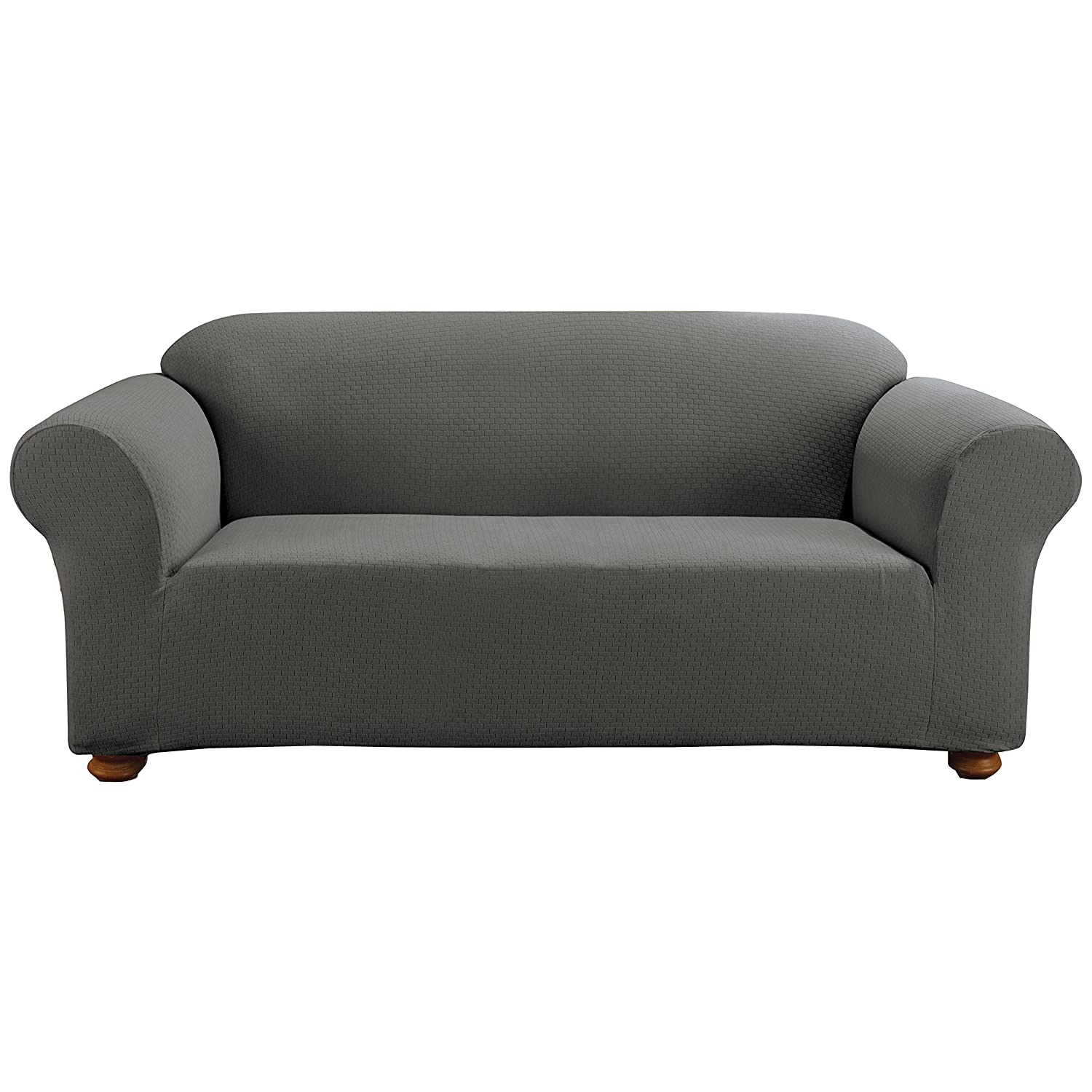 Attractive Amazon.com: Sure Fit Simple Stretch Subway 1 Piece   Sofa Slipcover    Carbon Gray (SF44250): Kitchen U0026 Dining