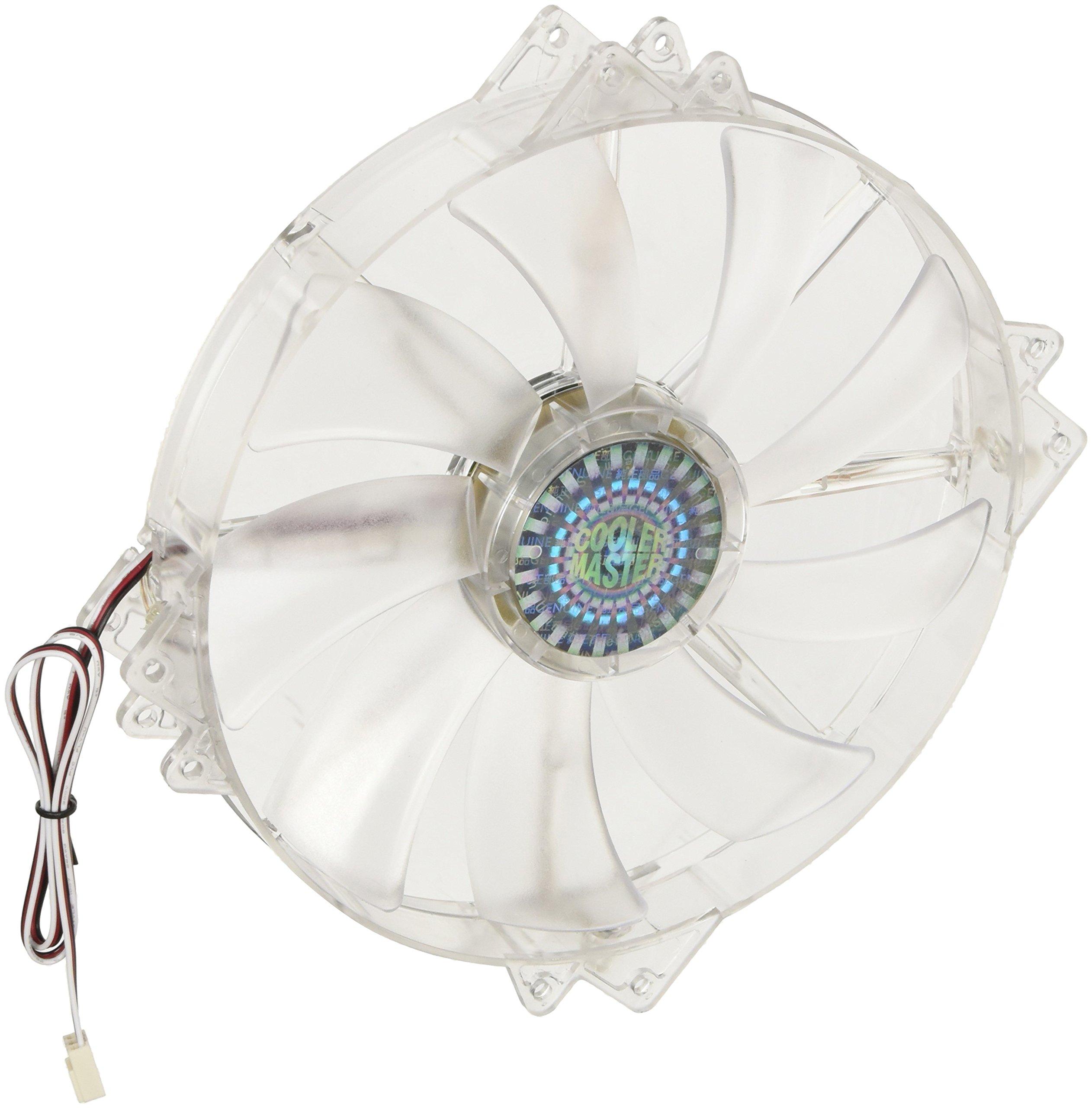 Cooler Master MegaFlow 200 - Sleeve Bearing 200mm Red LED Silent Fan for Computer Cases by Cooler Master (Image #2)
