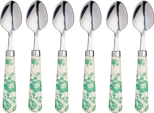 Kitchen Craft Set Of 6 Stainless Steel Tea Spoons