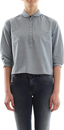 ONLY 15129301 NANNA LIGHT BLUE CAMISA Mujer LIGHT BLUE 36/S: Amazon.es: Ropa y accesorios