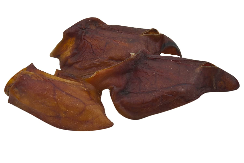 EcoStar Hunde Snack Schweineohren lose 100 Stück