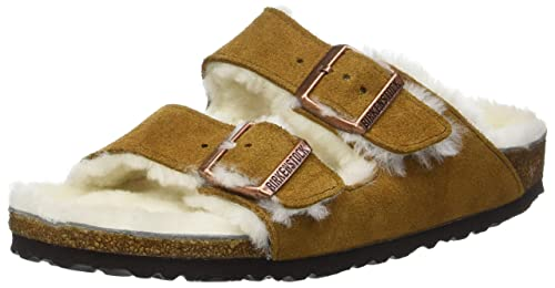 6e4570e088b Birkenstock Unisex Adults  Arizona Mink Open Toe Sandals  Amazon.co ...