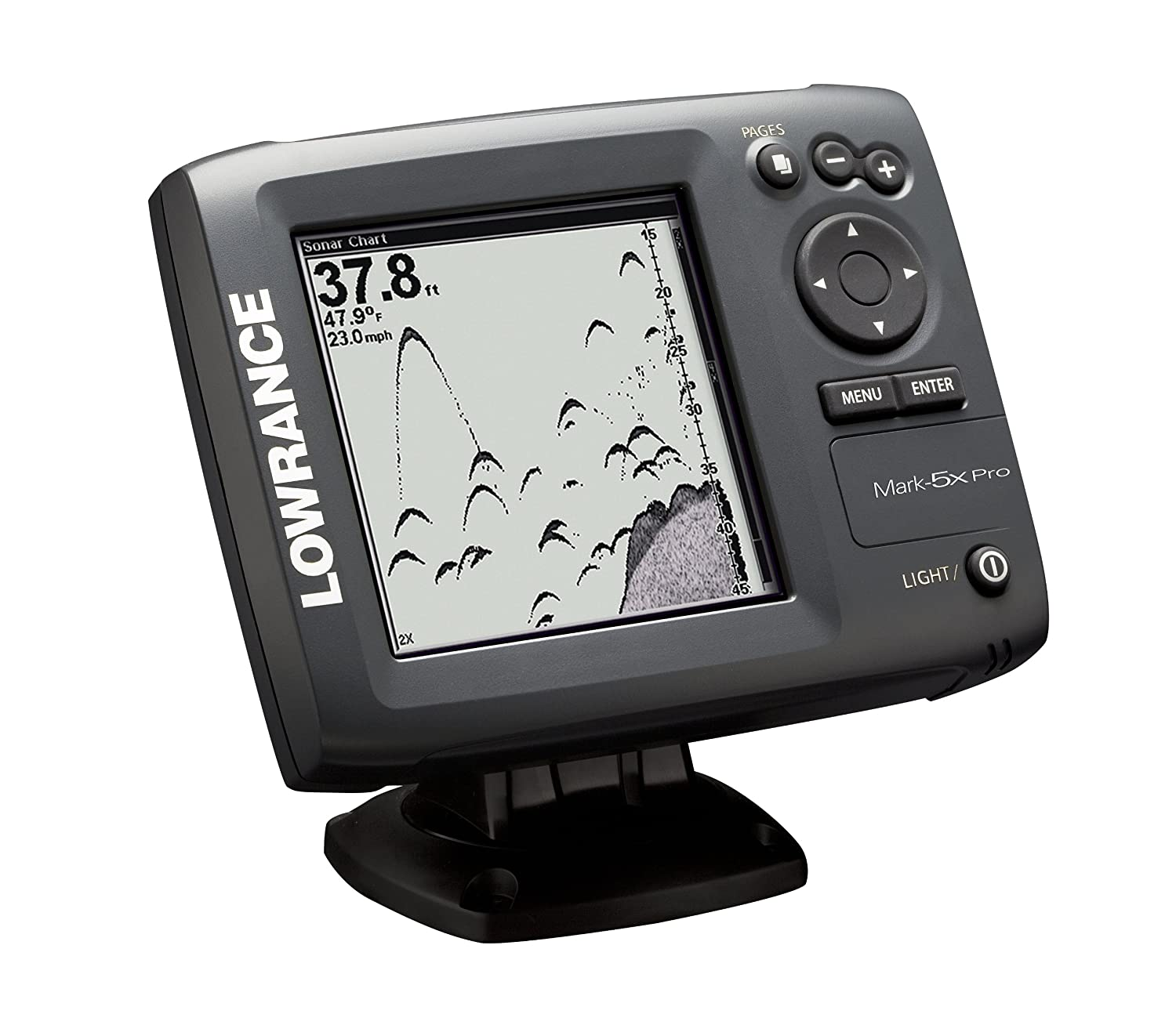 Lowrance Mark 5x Pro 5 Inch Waterproof Fishfinder Cell Sitex Transducer Wiring Diagram Colors Phones Accessories