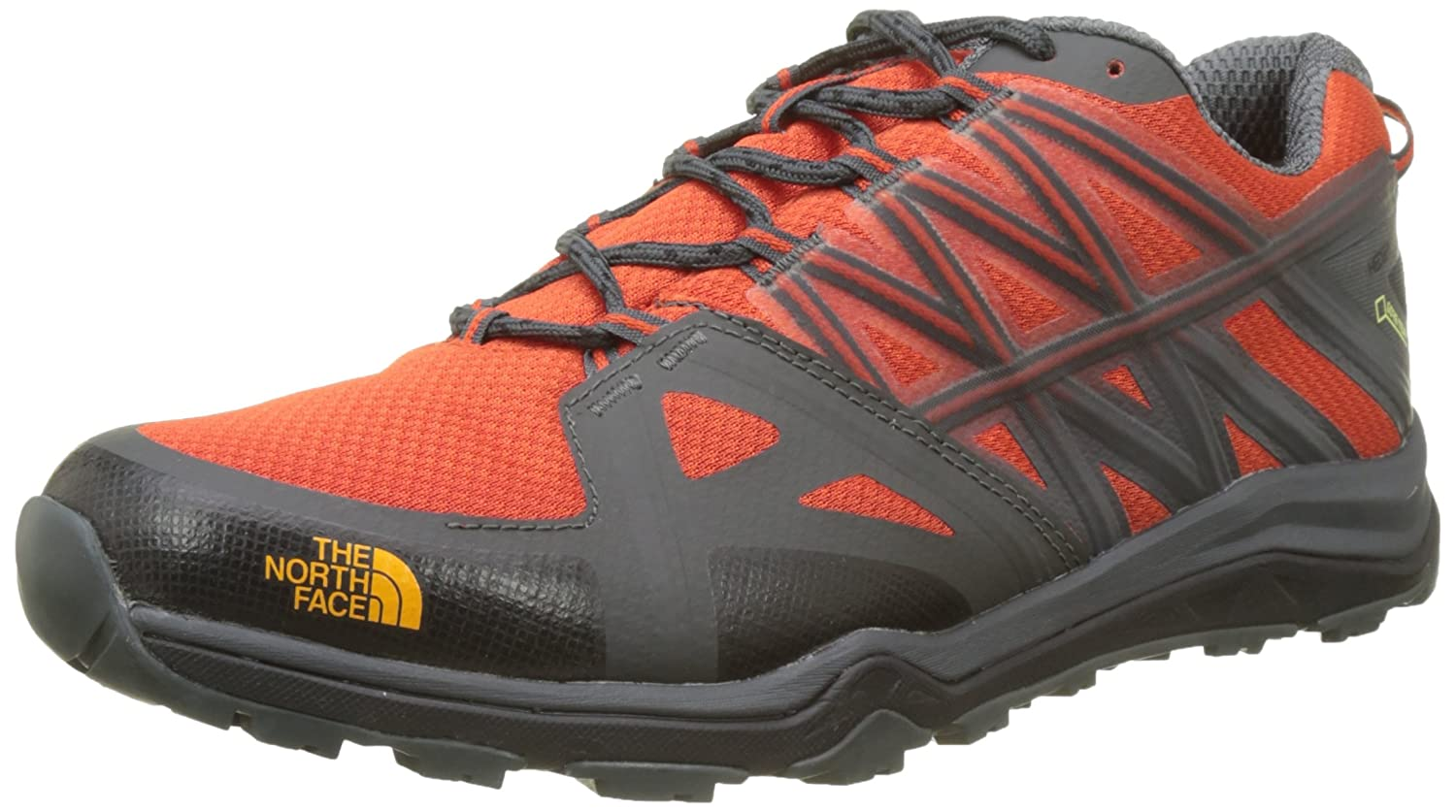 The North Face M HH Fp LTE II GTX, Zapatillas de Senderismo Para Hombre 45.5 EU|Varios Colores (Tnf Black/Tibetan Orange)
