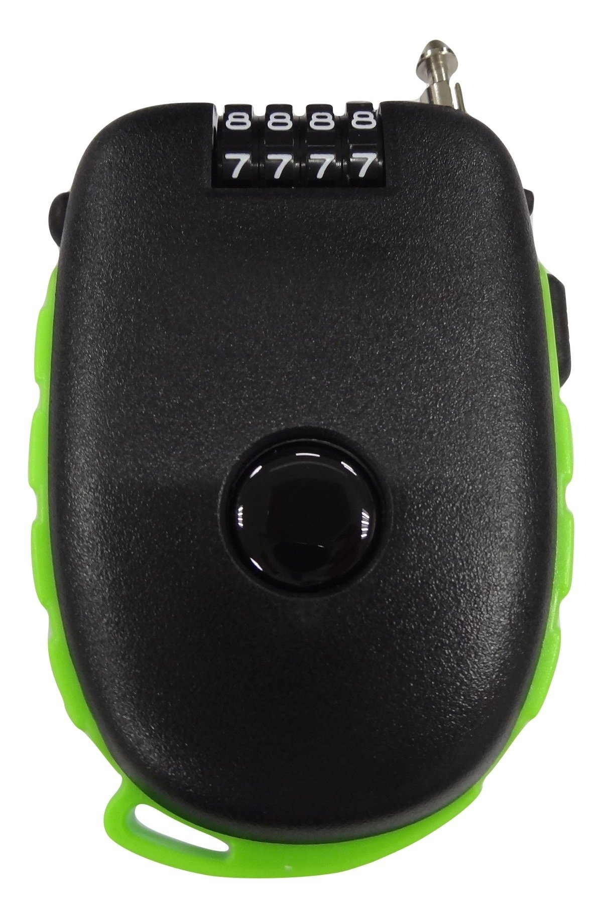 Bosvision Ultra-Secure 4-Digit Combination Lock with 3 Feet Retractable Cable for Bike, Ski, Snowboard and Stroller