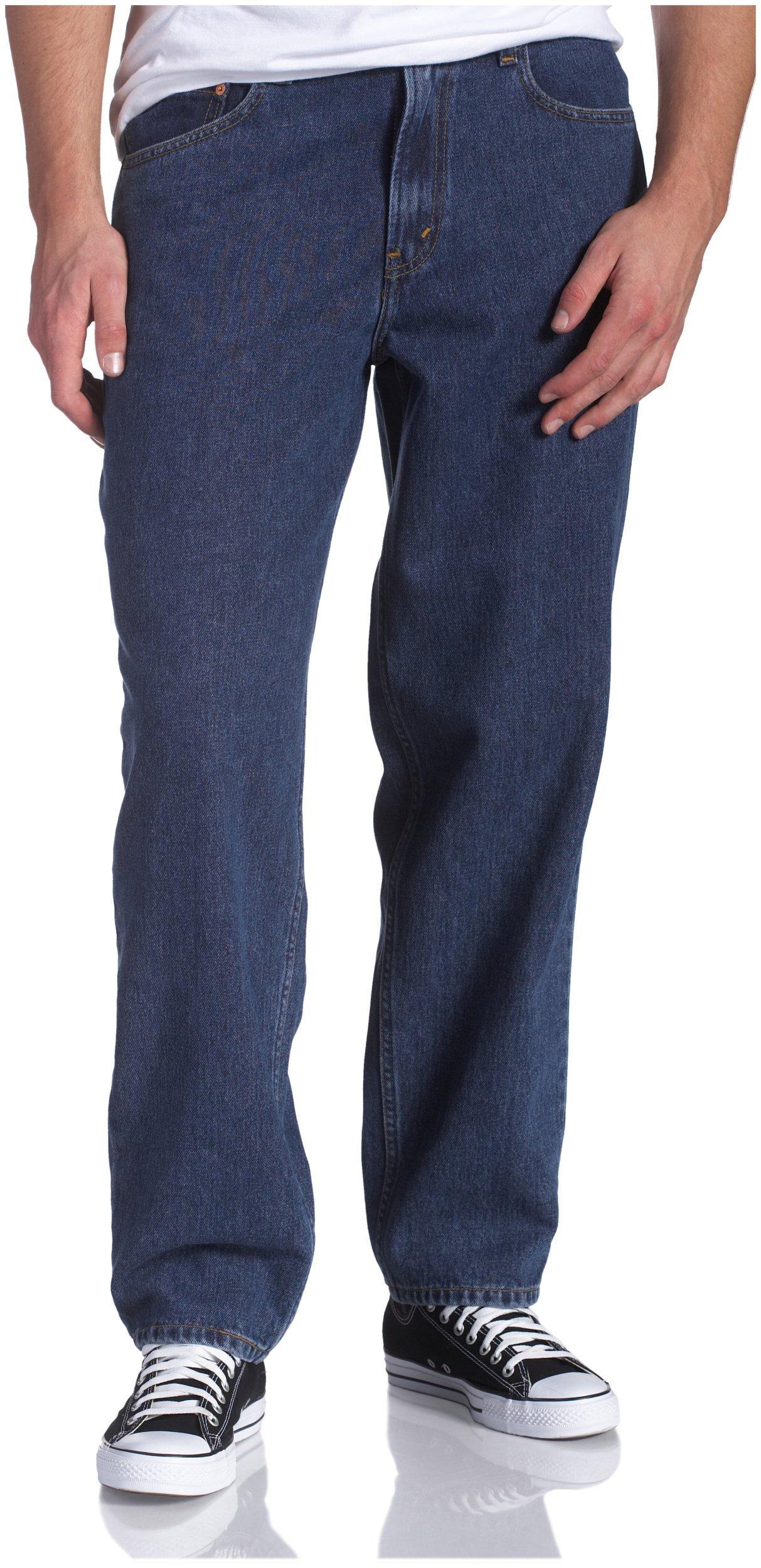 Levi's Men's 560 Comfort Fit Denim Jeans, Dark Stonewash, 46x30 by Levi's